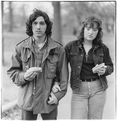 "The story Diane Arbus told with her camera was about shape-shifting: in order to understand difference one had to not only not dismiss it, but try to become it. ""I don't like to arrange things,"" she once said. ""If I stand in front of something, instead of arranging it, I arrange myself."""