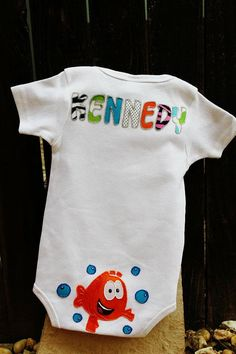Baby Bubble Guppy First Birthday Outfit by sassysistabowtique, $65.00