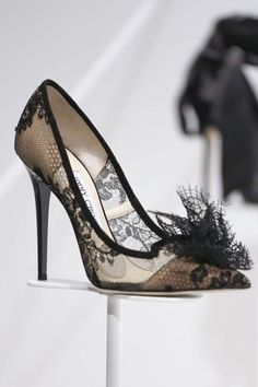 Jimmy Choo Ready To Wear Fall Winter 2014 Milan _ these are so Melissa!