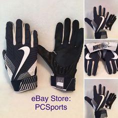 Men s Nike D-Tack 5-0 Lineman Football Gloves Blue Size Large. Guantes De  FútbolDefensaHombres Nike faf775a0bc221