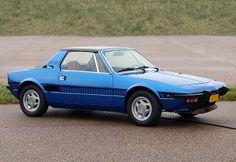Fiat X1/9 (128) (1978) (blue)