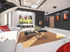 Projekt domu Padme 3 WZ 145,31 m2 - koszt budowy - EXTRADOM Bungalow House Plans, Corner Desk, Sweet Home, Villa, Table, Furniture, Mykonos, Home Decor, Building Homes