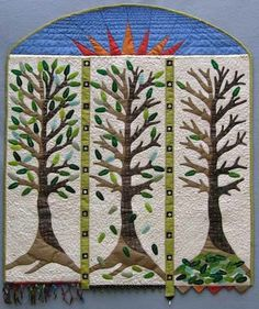 Cheryl Lynch, Expressions tree #quilt