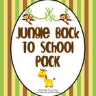 Jungle Theme Back to School Mega Pack Animal Print Classroom, Jungle Theme Classroom, Classroom Themes, Classroom Organization, Classroom Management, Open House Activities, First Week Activities, Beginning Of The School Year, Back To School