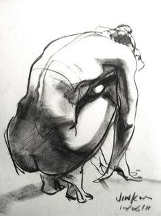 Gesture Drawing, Anatomy Drawing, Drawing Poses, Life Drawing, Drawing Sketches, Art Drawings, Figure Drawings, Drawing Tips, Contour Drawings