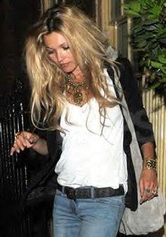 Kate Moss Style Icon  - white T-shirt