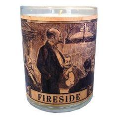 Spitfire Girl Fireside Wood Candle