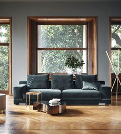 Fendi Casa - Madison Sofa #Fendi #LuxuryLivingGroup