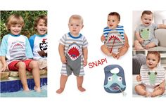 So much fun in a SNAP!! Appliqué mouths {snap} open to reveal a fun surprise inside! He will want to wear this set again and again! #BBKids #snapmouth #boy #mudpie www.brandisboutiqueshop.co > Kids > Clothing > NEW Mud Pie Spring ⛵️
