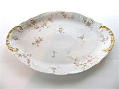 Antique Theo Haviland Limoges China Apple Blossom by HoneyYourHome