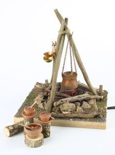 Swipe left Can you look at the beauty of miniatures What do you think 1 to 10 . Christmas Nativity, Christmas Crafts, Christmas Decorations, Christmas Villages, Miniature Houses, Miniature Fairy Gardens, Janmashtami Decoration, Diy And Crafts, Crafts For Kids