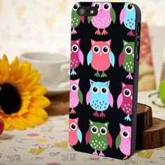 colorful owl iphone 4/4s/5/5c/5s case, colorful owl samsung galaxy s3/s4/s5, colorful owl samsung galaxy s3 mini/s4 mini, colorful owl samsung galaxy note 2/3
