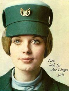 Aer Lingus air hostess