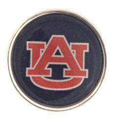 Auburn Tigers Snap Charms AU