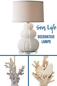 Uttermost Fontanne Table Lamp in Ivory with Linen Shade Coastal Style, Coastal Decor, Ocean Home Decor, Side Table Lamps, Fabric Lampshade, Winter Home Decor, Fashion Wall Art, Room Themes, Neutral Colors
