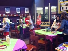 Middle school book tasting