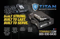 Titan Gun Safe Pistol Vault. Order Yours Today! www.TitanVault.com