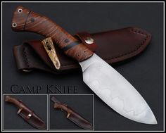 Burl Source Stabilized Knife Handle Wood - Redwood