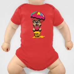 Bear Onesie by lescapricesdefilles - $20.00