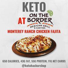 Healthy Fast Food Restaurants, Healthy Fast Food Options, Vegan Fast Food, Fast Healthy Meals, Keto Restaurant, Restaurant Guide, Keto On The Go, Low Carb Recipes, Healthy Recipes