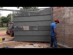 House Main Gates Design, Front Gate Design, Door Gate Design, House Design, House Front Gate, Front Gates, Entrance Gates, Flush Door Design, Modern Fence Design