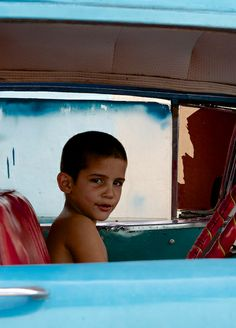 A little too young to be driving ~ Trinidad, Cuba.