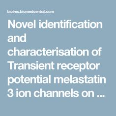Novel identification and characterisation of Transient receptor potential melastatin 3 ion channels on Natural Killer cells and B lymphocytes: effects on cell signalling in Chronic fatigue syndrome/Myalgic encephalomyelitis patients | Biological Research | Full Text