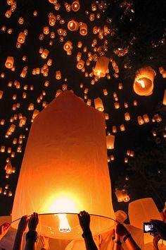 Loy Krathong Festival of Light, Thailand