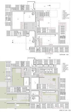 Education Architecture, School Architecture, Architecture Plan, Amazing Architecture, The Plan, How To Plan, Plan Plan, Shopping Mall Architecture, Footer Design