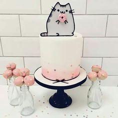 Pusheen don't cake & cakepops