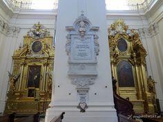ołtarze boczne kościół św. Krzyża Warszawa