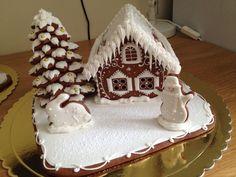 Купить пряничный домик - пряничный домик, пряничный сувенир, новогодний подарок, рождественский подарок