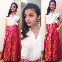 Cute Alia Bhatt is looking beautiful in Payal Khandwala ~ Sha's Inkling