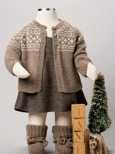 Luxurious Organic Infant and Baby Clothing: The Holiday 2012 Collection