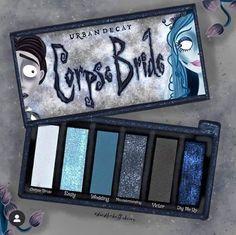 Corpse Bride Eyeshadow Palette by Urban Decay Makeup Kit, Skin Makeup, Makeup Inspo, Makeup Inspiration, Beauty Makeup, Makeup Products, Fancy Makeup, Cute Makeup, Corpse Bride Makeup