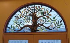 Stained glass tree idea