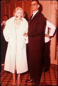 Marilyn Monroe N Arthur Miller .... ♥♥♥♥