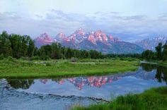 Morning Along the Snake River - $365.00