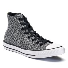 Men's Converse Chuck Taylor All Star Geometric High Top Sneakers, Size: 11, Med Grey