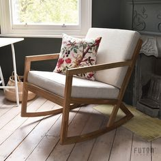 Made From Pure Solid Oak And With A Soft Seat Pad Available In Two Colours