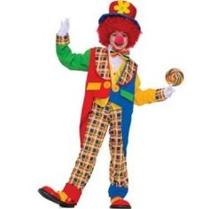 Clown Costumes For Kids Halloween or Birthday Parties! Did you know that clown costumes for kids are one of the most in demand costumes all year round! Not just for Halloween but also birthday parties...