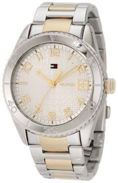 Tommy Hilfiger  Women's 1781146 Sport Two Tone Bracelet  Watch Tommy Hilfiger. $100.99