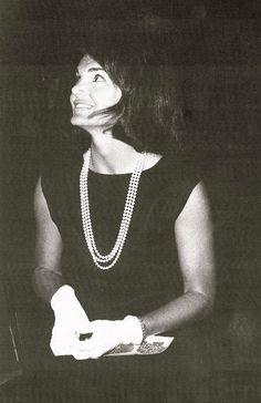 Jackie Kennedy's Little Black Dress