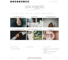 Galauness free blogger templates