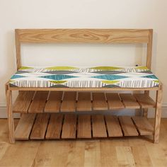 hall bench with shoe storage by a+b furniture   notonthehighstreet.com