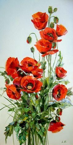 Skripchenko Lyudmila, poppies