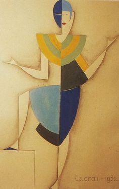 Tullio Crali, Dismountable dress, 1932. © Mart, Museo d'Arte Moderna e Contemporanea di Trento e Rovereto. Via aisdesign