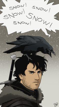 Jon Snow by Sarctic