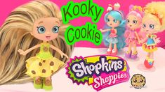 DIY Custom Kooky Cookie SHOPPIES SHOPKINS Doll - How To Craft Do It Your...