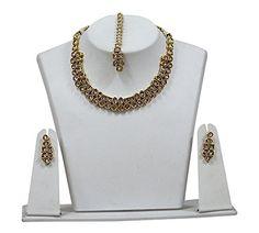 Indian Bollywood Jewelry Necklace Set Beautiful Designer ... https://www.amazon.com/dp/B07B6LHYMQ/ref=cm_sw_r_pi_dp_U_x_7IDSAbRCY8H8C